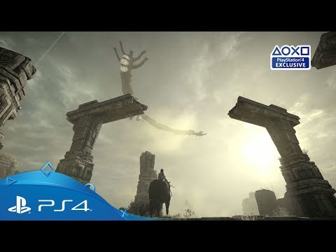 Shadow of the Colossus   PGW 2017 Gameplay Trailer   PS4