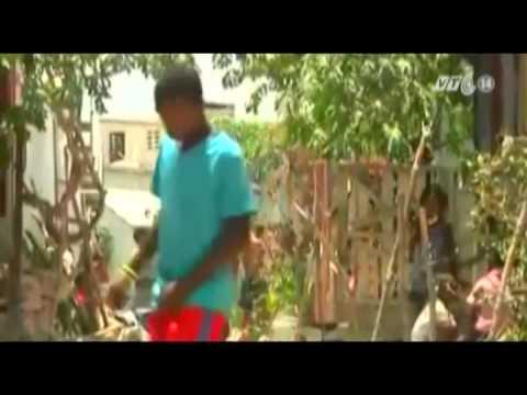 Nhà vệ sinh sinh thái ngăn ngừa dịch tả ở Haiti
