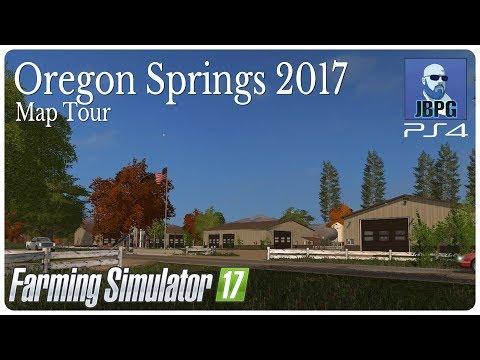 FS17: Oregon Springs 17 Map Tour