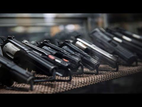 Gun sales skyrocket ahead of the U.S. presidential election as fears of unrest grow