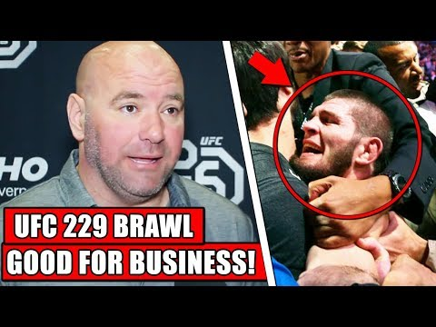 Dana White admits UFC 229 Melee was 'good for business'; Conor McGregor gives free Whisky to fans