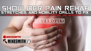 SHOULDER PAIN REHAB PROGRAM | STRETCHES & MOBILITY FOR ALL SHOULDER PAIN AND IMPINGEMENT