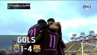 Gols - Las Palmas 1 x 4 Barcelona - 37ª Rodada La Liga 2016-2017 - 14/05/2017Narração: Rodrigo Cascino, Comentários: Flávio GomesEstádio: Gran Canaria
