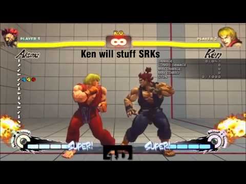 optionselects - it can get frustrating not being able to hold Akuma down. hopefully this video can help you! check out our channel @ http://www.twitch.tv/The_4th_Dimension.