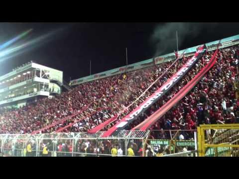 Gol + Celebración - Liga Deportiva Alajuelense 1 - 0 LocaS - Con la Gloriosa #12 - La 12 - Alajuelense
