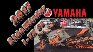 8. 2017 Yamaha SideWinder L TX SE at 2016 Rochester Snow Show