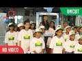 Pooja Hedge With Cute Kids At She Can Fly | Smile Foundation