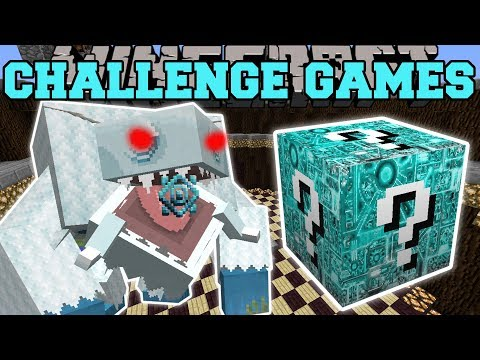 Minecraft: FROSTMAW CHALLENGE GAMES - Lucky Block Mod - Modded Mini-Game