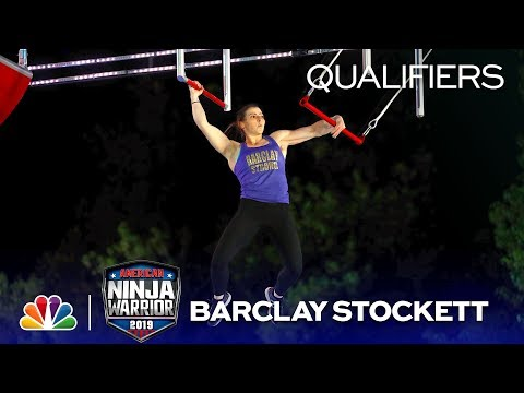 Barclay Stockett Goes Coconuts On The Course - American Ninja Warrior Oklahoma City Qualifiers 2019