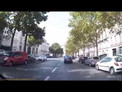 Driving In Paris - Avenue d'Iena - Arc De Triomphe - Avenue de la Grande Armee