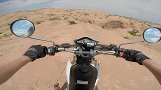 7. Enduro Riding in Moab! Yamaha XT250