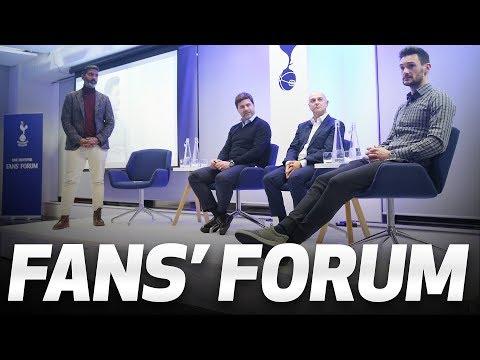 Video: FANS' FORUM | Daniel Levy, Mauricio Pochettino and Hugo Lloris