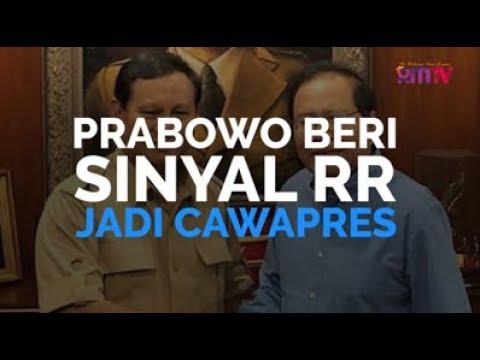 Prabowo Beri Sinyal RR Jadi Cawapres