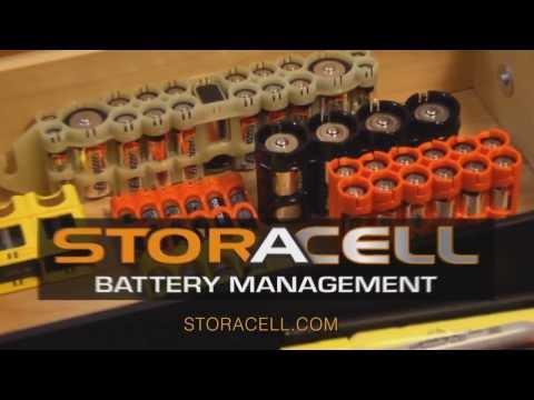 Система для хранения батареек StorACell