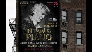 Get your tickets HERE :: https://www.nch.ie/Online/Boris-Berezovsky-10Sep17 Sunday 10th Sept 2017 @8PM www.nch.ie...