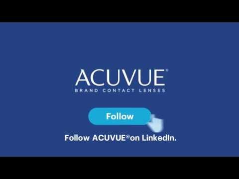 Follow ACUVUE® Brand on LinkedIn for EYE-INSPIRED™ stories and insights