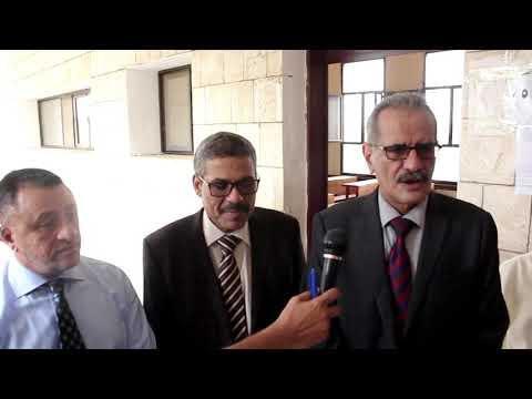 كلمة الوزير عبدالله لملس أثناء زيارته لمراكز اختبارات الثانوية العامة في أبين
