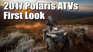 5. 2017 Polaris ATV Lineup First Look, Redesigned Sportsman 850, 1000, and more powerful 450