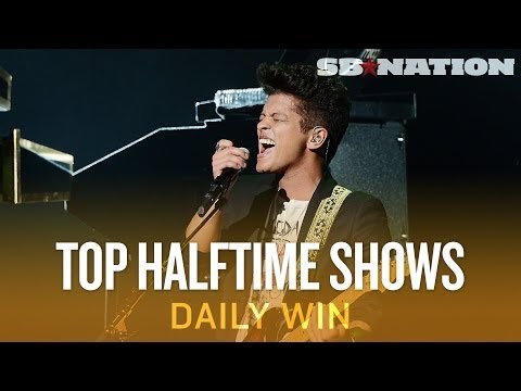 Bruno Mars versus the Super Bowl's best halftime shows – The Daily Win