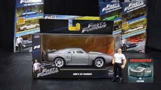 Nonton Fast & Furious 8 - Dom's Ice Charger -  Jada Toys 1:32 Unboxing Film Subtitle Indonesia Streaming Movie Download