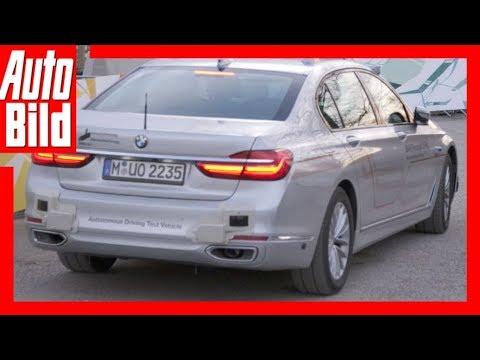 BMW 7er – autonomes Fahren (2018) Probefahrt / Erklär ...