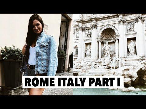 ROME PART I: trevi fountain & a real roman family dinner!