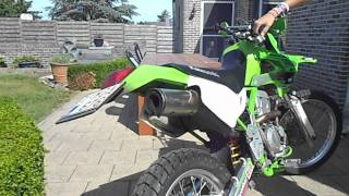 10. Kawasaki klx 300r start up