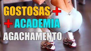 Gostosas Agachamento Academia - VIDEOS WHATSAPP