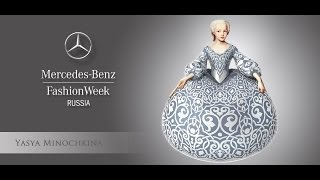 [HD] Mercedes-Benz Fashion Week Russia Fall/WInter 14/15: Yasya Minochkina