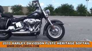 10. Used 2010 Harley Davidson FLSTC Heritage Softail Classic for sale *
