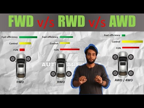 AWD vs RWD vs FWD Explained with Animation | AutoRage Explained ep 12