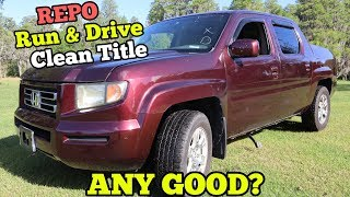 Video I Bought a $3,000 Repossessed Honda Truck from Salvage Auction. HALF OFF RETAIL! MP3, 3GP, MP4, WEBM, AVI, FLV Juli 2019
