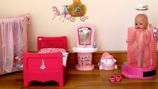 Video Baby Dolls Bedroom Baby Born Baby Annabell Evening Routine and Children Nursery Rhymes MP3, 3GP, MP4, WEBM, AVI, FLV Juli 2018
