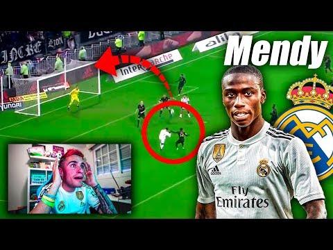 REACCIONO A FERLAND MENDY *NUEVO FICHAJE DEL REAL MADRID*