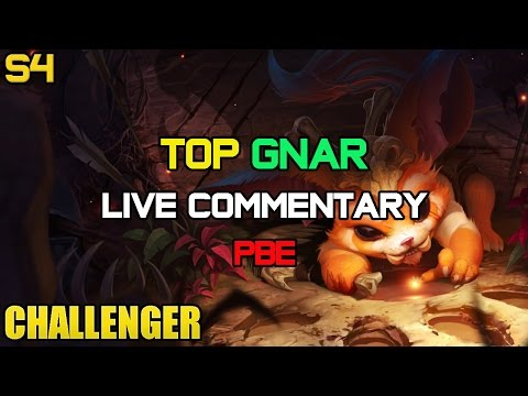 Ad - Enjoy Challenger Content? : http://www.youtube.com/subscription_center?add_user=luigidragon UPDATE: tri force best Gnar ADC Gnar seems the best way to buil...