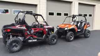 10. 2015 Polaris RZR 900 Side By Side  Review Next To 2013 RZR 800 Eddie Vegas