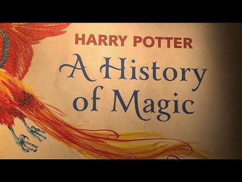 Harry Potter exhibition opens at the British Library