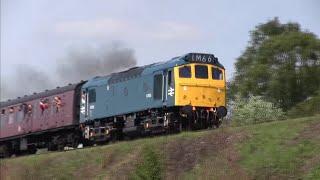 Download Video Severn Valley Railway Diesel Gala 2019 - GBRf LocoFest MP3 3GP MP4