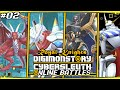 Digimon Story  Cyber Sleuth Online Battles 2  39  39 Royal Knights Team 39  39