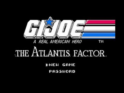 G.I. Joe NES Gameplay Longplay (Бросок кобры - Полное прохождение)