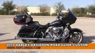 6. Used 2010 Harley Davidson Road Glide Custom Motorcycles for sale