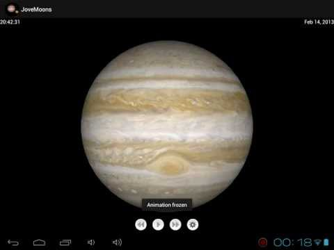 Video of Jupiter Simulator