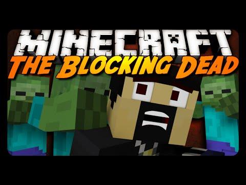 Minecraft: THE BLOCKING DEAD! (Server Mini-Game)