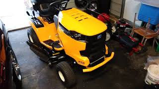 6. 2018 xt2 lawn tractor cub cadet ,mistake was 1000 hours was claimed by one guy from an xt1 not 100