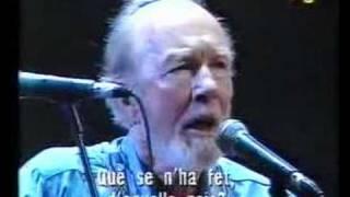 Del concert 30 anys al vent - Raimon - 23 d'abril 1993 - Palau Sant Jordi - Barcelona - Where have all the flowers gone - Pete...