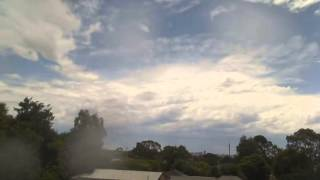 Adelaide Storms 22 November 2014 Time Lapse