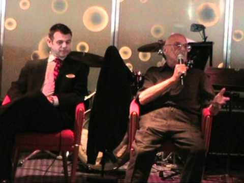 Don Sherman, King of Cruise Ship Comedy in a Q&A onboard Part 1
