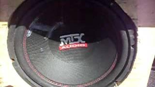 "Video 12"" mtx roadthunder subwoofer in ford tempo MP3, 3GP, MP4, WEBM, AVI, FLV Juli 2018"