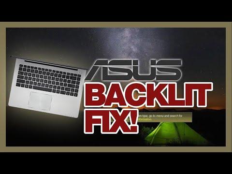 , title : '2016 ASUS laptops keyboard back light fix (after Windows 10 update)'
