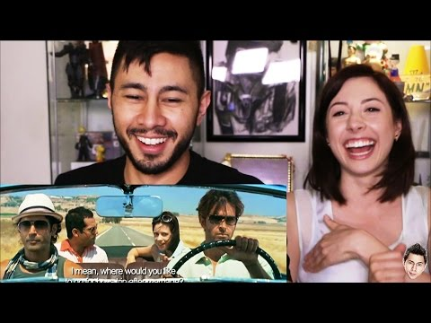 Download ZINDAGI NA MILEGI DOBARA reaction review by Jaby & Rachel! HD Mp4 3GP Video and MP3